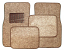 Carpet Floor Mats, Taupe