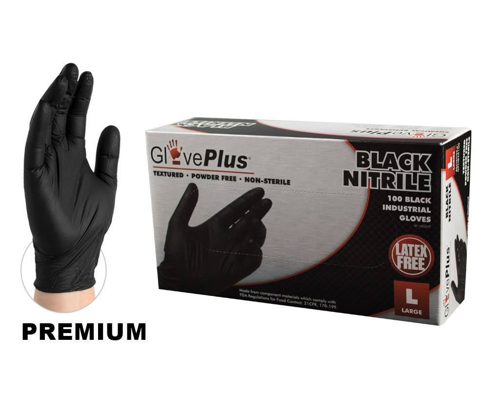 Disposable Black Nitrile Mechanic Gloves Buy Now Estampe