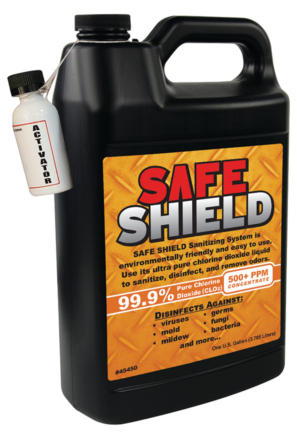 Safe Shield Sanitizing System