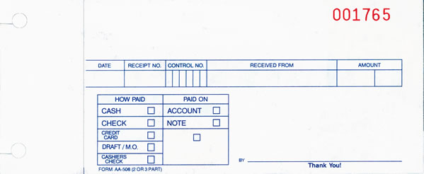 buy cash receipt slips cash receipts for auto dealers estampe