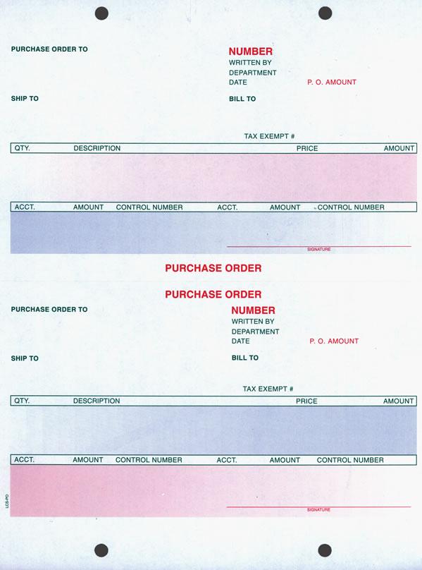 Laser Purchase Order