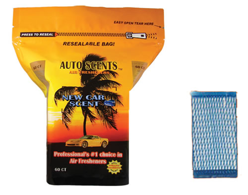 Scented Air Freshener Pads for Cars