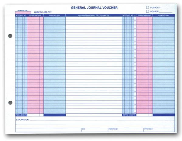 General Journal Voucher - ERA®