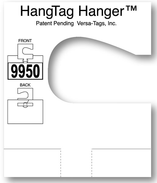Hangtag Hanger Adapter