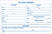 Test Drive Agreement Form