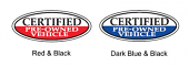 Certified Pre Owned Oval Decals