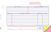 Auto Parts Pick-up Receipt Form