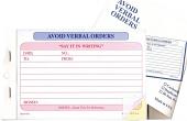 Avoid Verbal Auto Deal Order Books