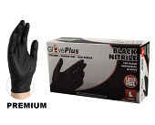 Premium Disposable Black Nitrile Mechanic Gloves
