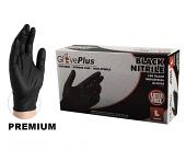 Premium Disposable Black Nitrile Mechanic Gloves