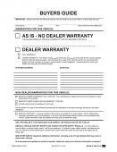 Buyers Guide - File Copy - As Is