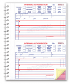 Automotive Internal Authorization Book