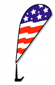 Car Window Clip-On Paddle Flags