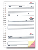 Purchase Order Books 3-Part
