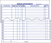 Service Appointment Pads