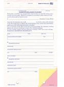 Odometer Disclosure Statement - ODOM-103-N