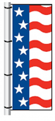 Vertical Drape Flag
