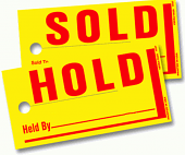 Hold-Sold Tags